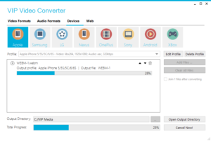 Video and audio converter
